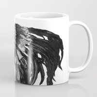 indian Mugs featuring Indian by Peter Fulop