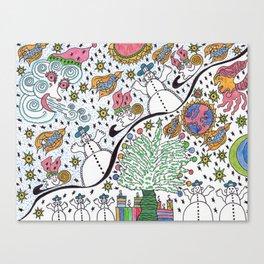 SledScape Canvas Print