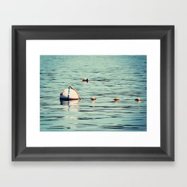 Buoys Framed Art Print