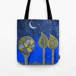 Night Grove Tote Bag