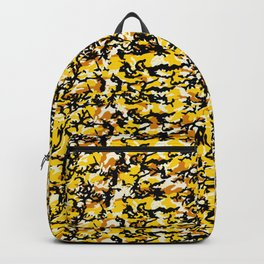 TCR-CAMO PRINT back pack -yellow Backpack