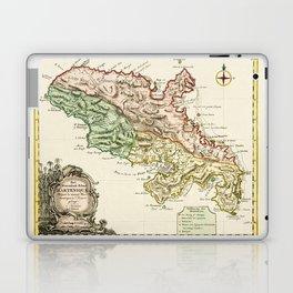 Map Of Martinique 1750 Laptop & iPad Skin