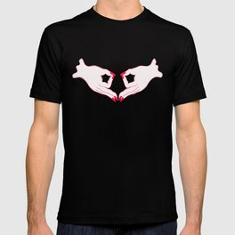 feminist gang sign T-shirt