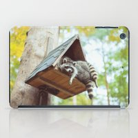 racoon iPad Cases featuring racoon by Kalbsroulade