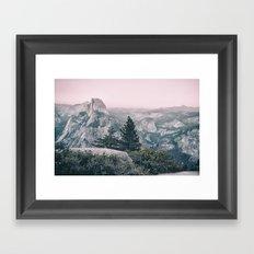 Half Dome XIII Framed Art Print