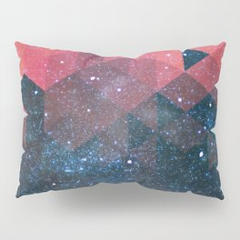 Space triangles 02 Pillow Sham