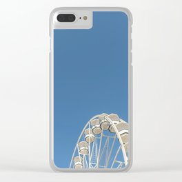 High In The Blue Sky 1 Clear iPhone Case