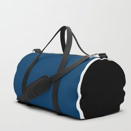 TEAM COLORS 10....NAVY AND BLACK Duffle Bag