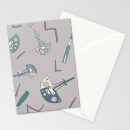 Trad Climbing Cams Pattern Stationery Cards