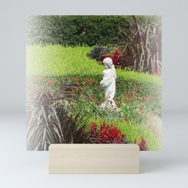 Dreamy Cupid's Garden Mini Art Print