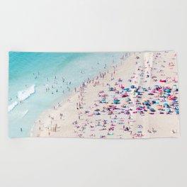 beach - summer love Beach Towel