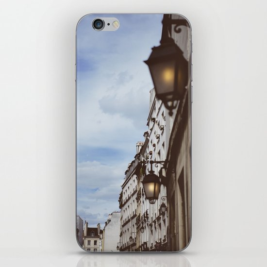 Lanterns & Streets of Paris iPhone & iPod Skin