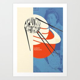 Sputnik Sweetheart by Haruki Murakami Art Print