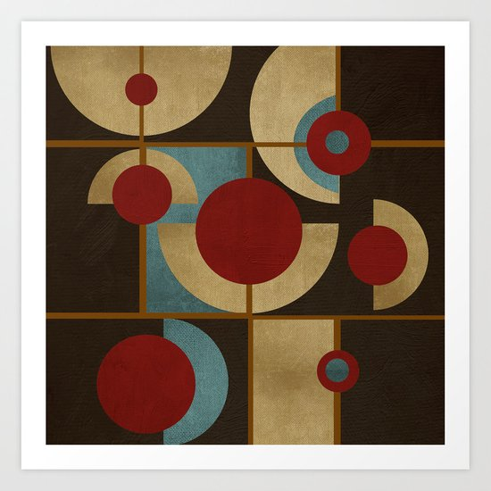 Textures/Abstract 98 Art Print