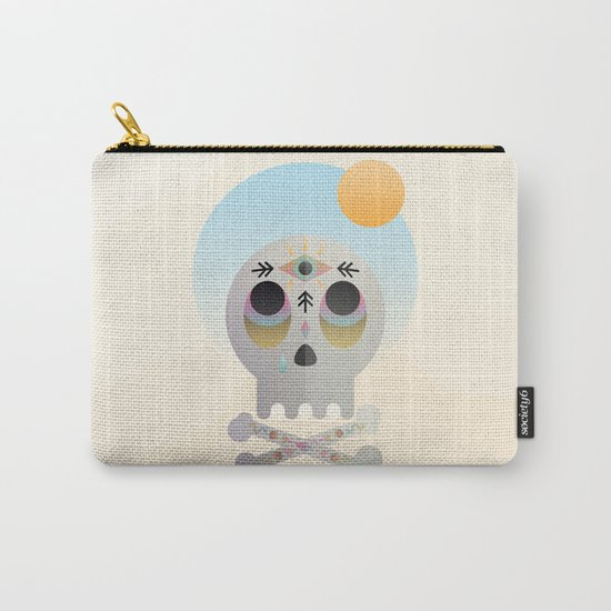 Magic Skull Carry-All Pouch