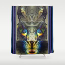 MY NAME IS LEGION...SON OF PUCK Shower Curtain