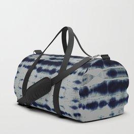 Shibori Strips Duffle Bag