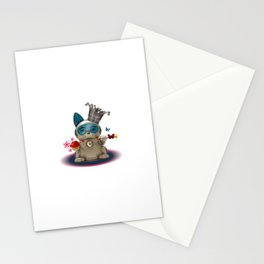 B.U.D.G.I.E. (Biomechanical Unit Designed for Galactic Infiltration and Exploration) Stationery Cards