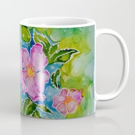 Alberta Wild Rose Coffee Mug