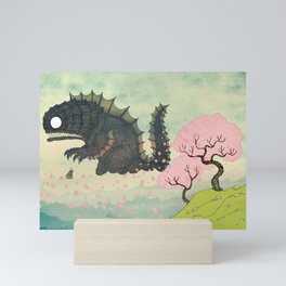 Springtime Sea Monster Mini Art Print