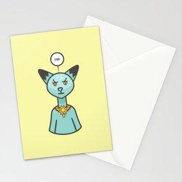 Lying. Stationery Cards
