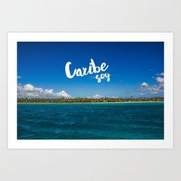 Caribe Soy Art Print
