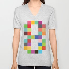 Eight Bit Unisex V-Neck