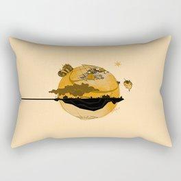 Eskisehir and Invisible World Rectangular Pillow