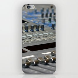 Mixing Console iPhone Skin
