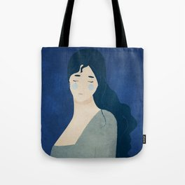 My tears are blue Tote Bag