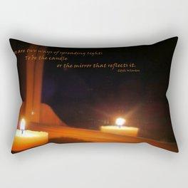 Spreading Light Rectangular Pillow