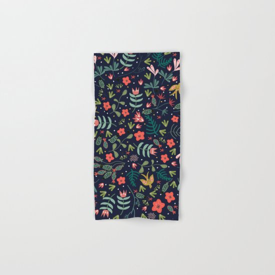 Flying Around in the Garden Hand & Bath Towel