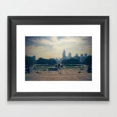 ROCKYS VIEW Framed Art Print