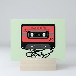 Make it Retro Mini Art Print