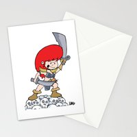 Red Gilly! Stationery Cards