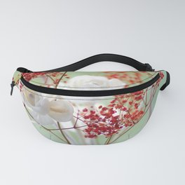 White Rose for you Fanny Pack
