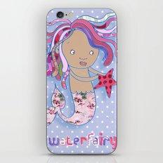 Water Fairy Mermaid iPhone & iPod Skin