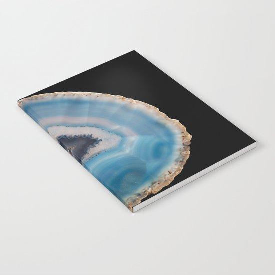 Blue Geode Notebook