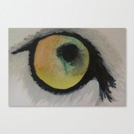 Wolf Eye Canvas Print