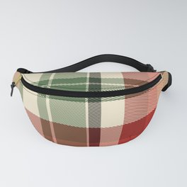 Holiday Plaid 18 Fanny Pack