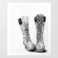 Shoes. Art Print