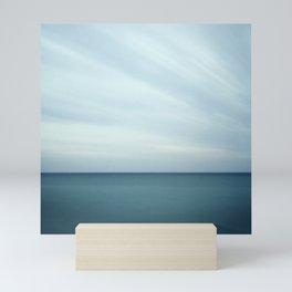 Minimalist  long exposure color waterscape Mini Art Print