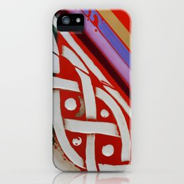 Celtic Knot with Autumn Colors iPhone Case