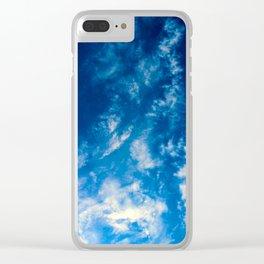 Clouds_001 Clear iPhone Case