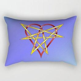HeartStar Knot Rectangular Pillow