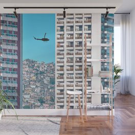 Reality is Subjective: Brazil Wall Mural