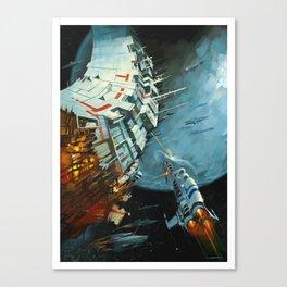 The Battle for Proxima Centauri Canvas Print
