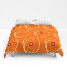 Warm Universe Pattern  Comforters