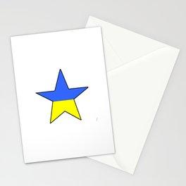 Flag of Ukraine 4 -Ukrainian,Україна, Ucrania,kiev,sevastopol Stationery Cards