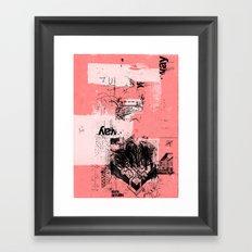 misprint 80 Framed Art Print